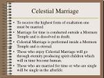 celestial marriage