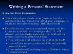 writing a personal statement31