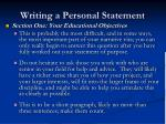 writing a personal statement5