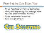 planning the cub scout year1