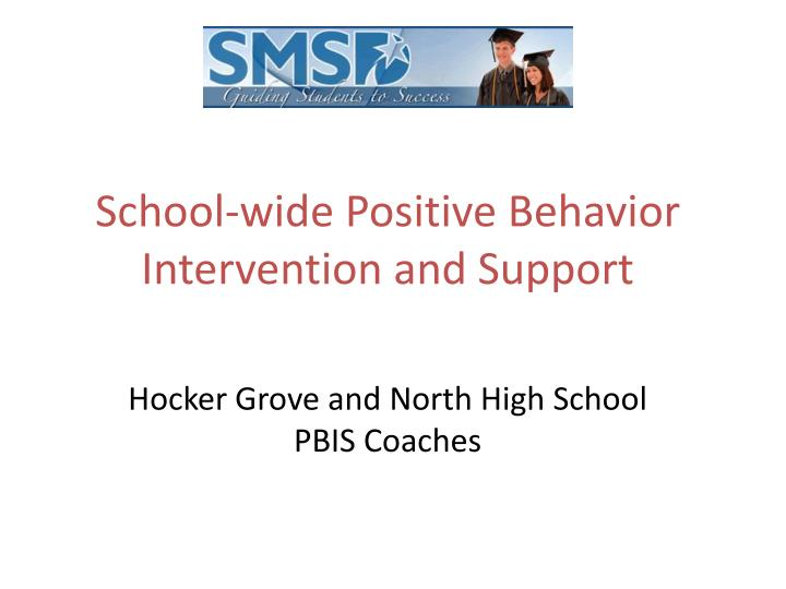 school wide positive behavior intervention and support n.