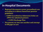 in hospital documents