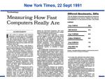 new york times 22 sept 1991