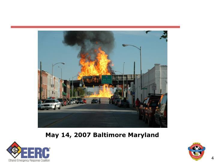 May 14, 2007 Baltimore Maryland