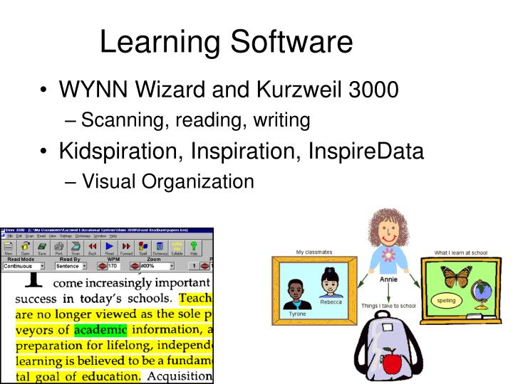 Learning Software