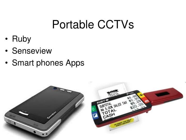 Portable CCTVs