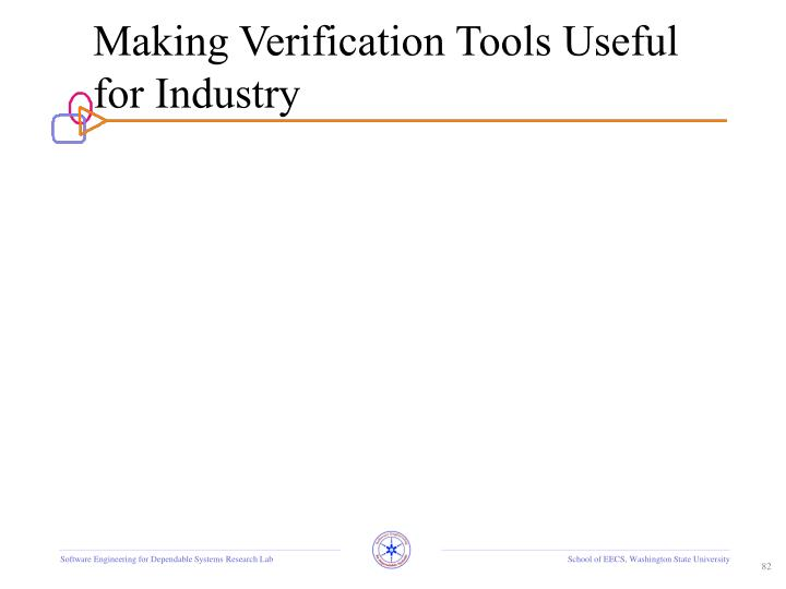 Making Verification Tools Useful for Industry