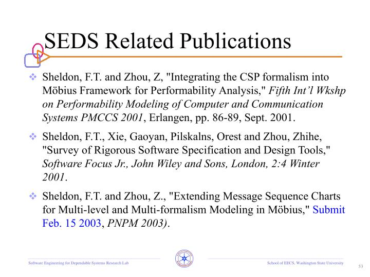 SEDS Related Publications