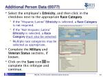 additional person data 0077