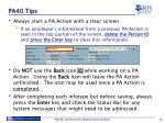 pa40 tips