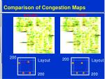 comparison of congestion maps