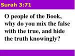 surah 3 71