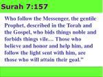 surah 7 157