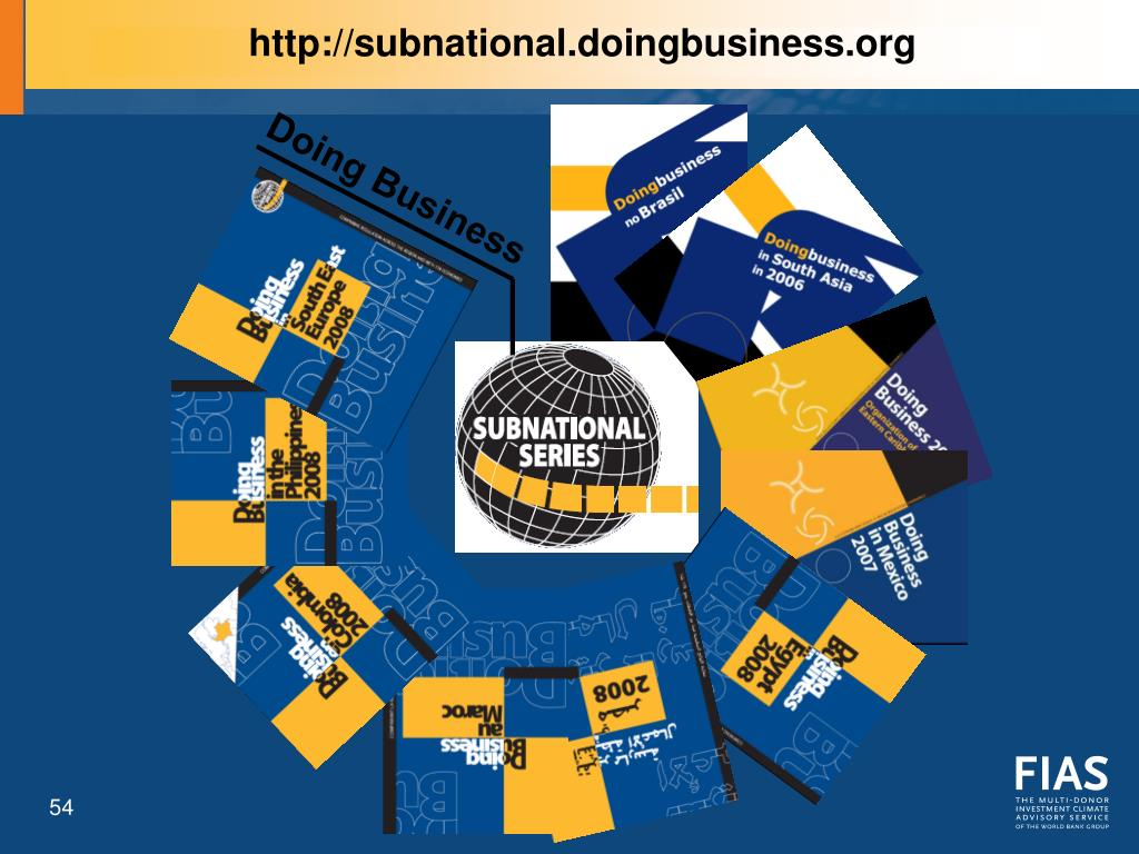 http://subnational.doingbusiness.org