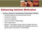 enhancing intrinsic motivation2