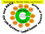 stakeholders member states and partners
