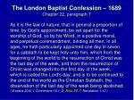 the london baptist confession 1689 chapter 22 paragraph 7