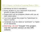 ee 5 impact on student learning project isl