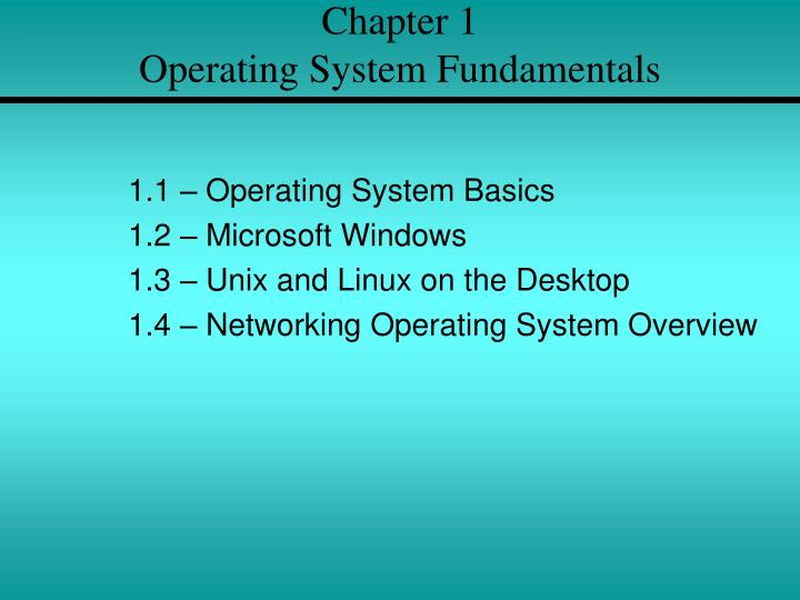 chapter 1 operating system fundamentals n.