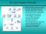 pcs and computer networks1