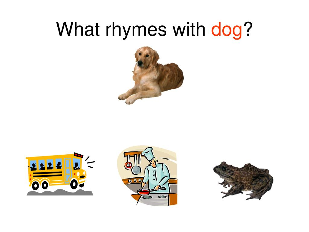 What rhymes with