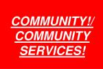 community community services