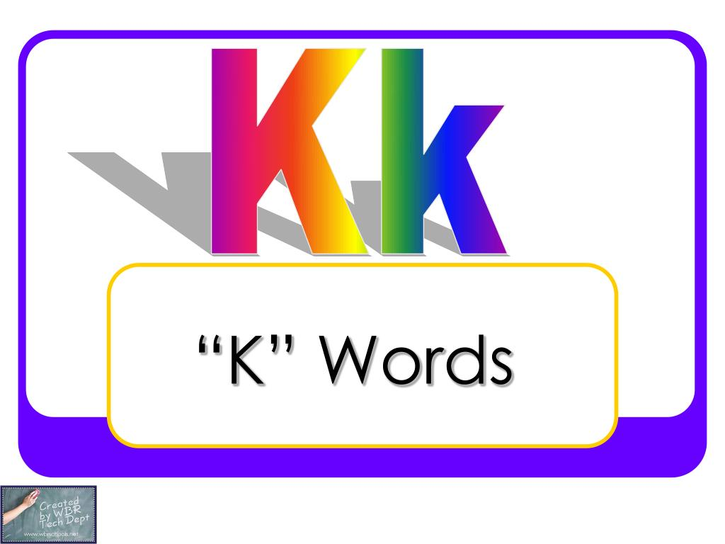k words l.