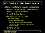 why develop a cyber security center4