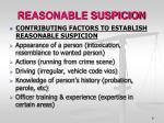 reasonable suspicion1