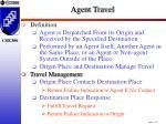 agent travel