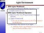 aglet environment