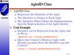 agletid class