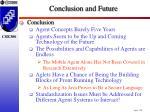 conclusion and future