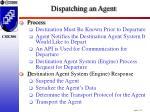 dispatching an agent