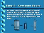 step 4 compute score