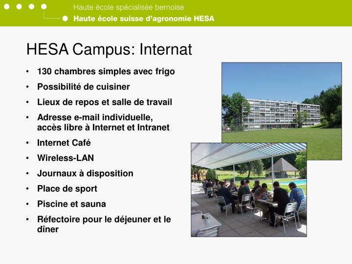 HESA Campus: Internat