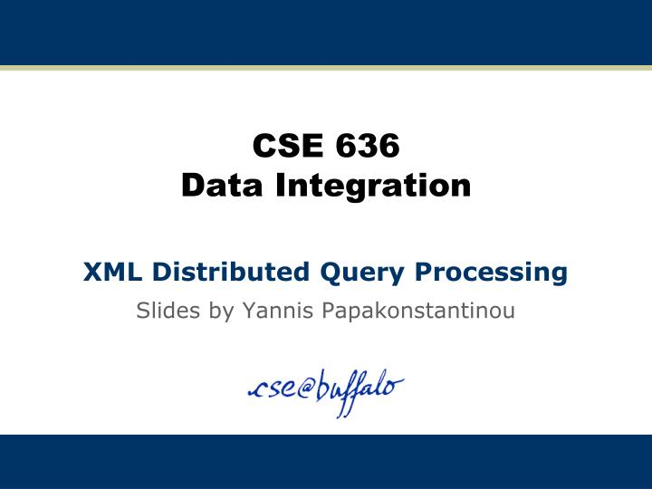 cse 636 data integration n.