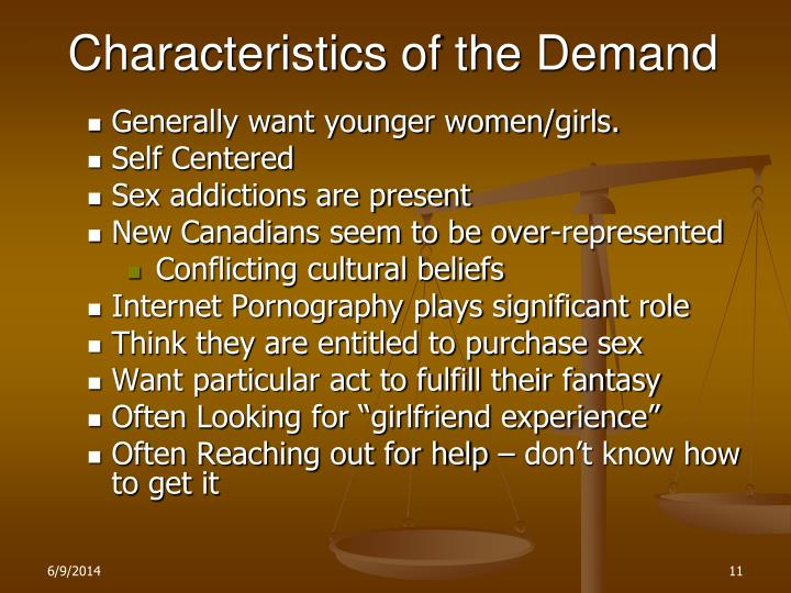 Characteristics of the Demand