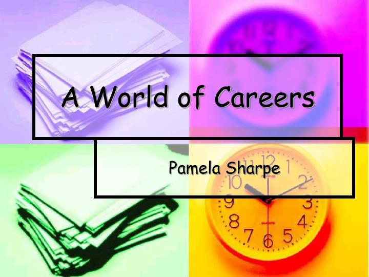 a world of careers n.