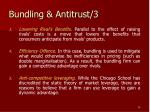 bundling antitrust 3