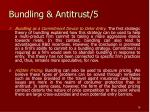 bundling antitrust 5
