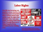 labor rights