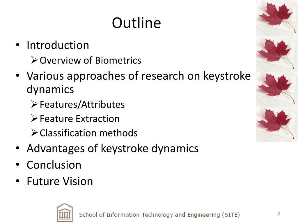 PPT - Keystroke Biometric PowerPoint Presentation - ID:1013673