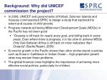 background why did unicef commission the project