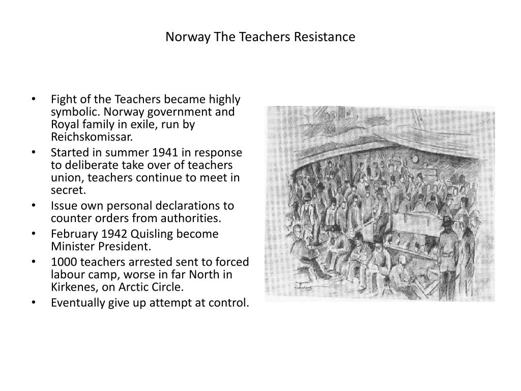 PPT - Non Violent Resistance to Hitler – the ultimate test ...Non Violent Resistance Meaning
