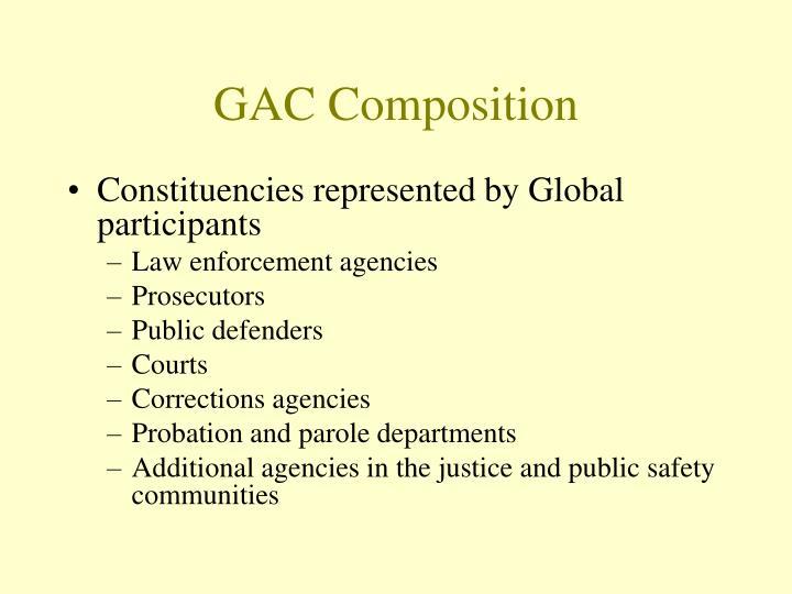 GAC Composition