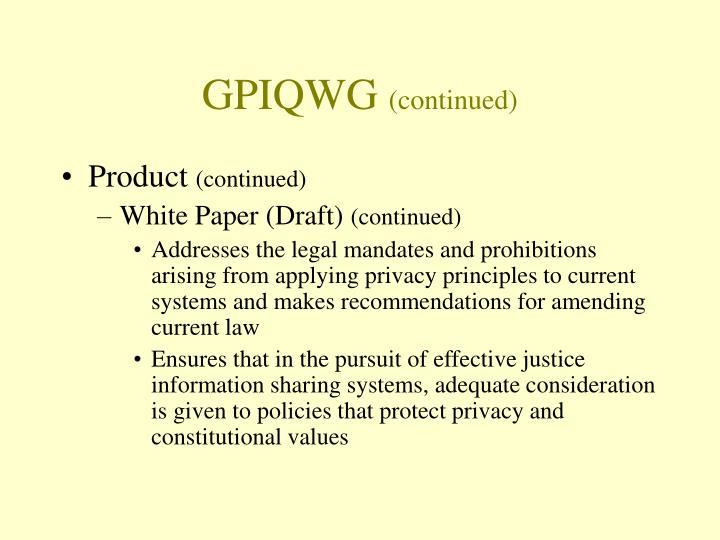 GPIQWG
