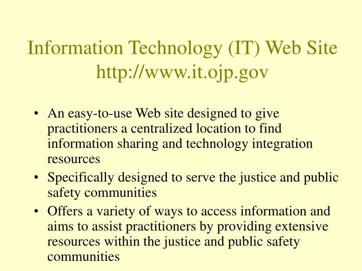 Information Technology (IT) Web Site