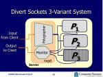 divert sockets 3 variant system