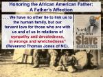 honoring the african american father a father s affection1